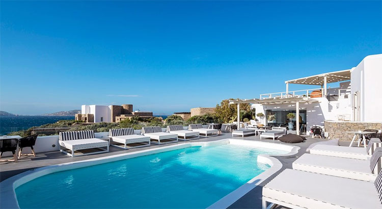 Mooiste boutique hotels Mykonos