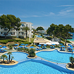 Mooiste stranden Mallorca: Inturotel Esmeralda Park
