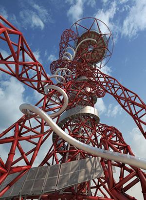 Langste en hoogste glijbaan; Orbit Tower Londen