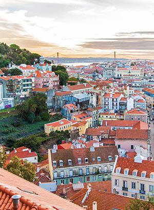 Lissabon voor beginners; uitzicht