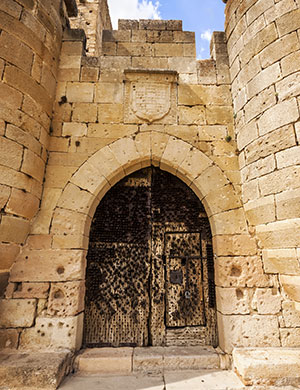 Pedraza Spanje, kasteel
