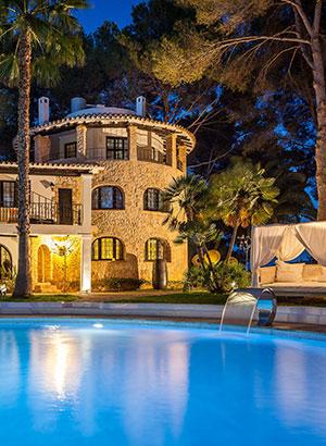 Romantische hotels Spanje