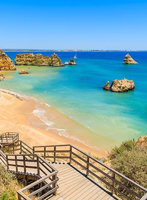 Strandbestemmingen Europa: Algarve