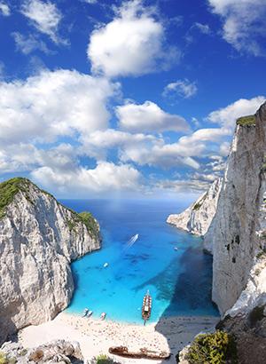 Strandbestemmingen Europa: Navagio Beach