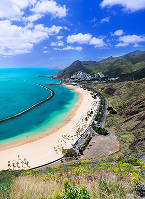 Strandbestemmingen Europa: Tenerife
