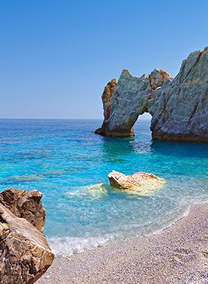 Vakantie Skiathos, stranden