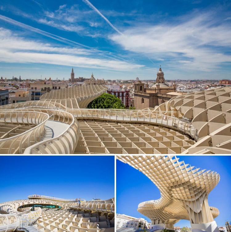 Fotospots Sevilla: Metropol Parasol