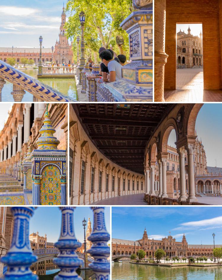Fotospots Sevilla, Plaza de Espana