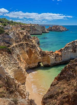 Kustplaatsen Algarve