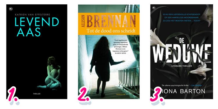 Leukste boeken voor op vakantie: thrillers