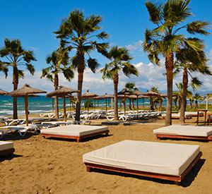 Marbella, Saint Tropez: strand