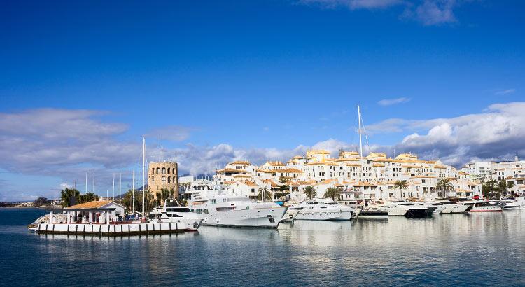 Marbella. Saint Tropez, Spanje