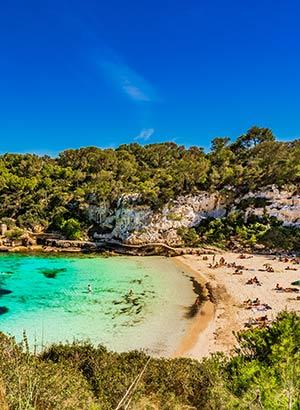 Mooiste stranden Mallorca: Cala Llombards