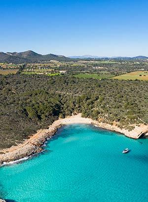 Mooiste stranden Mallorca: Cala Varques