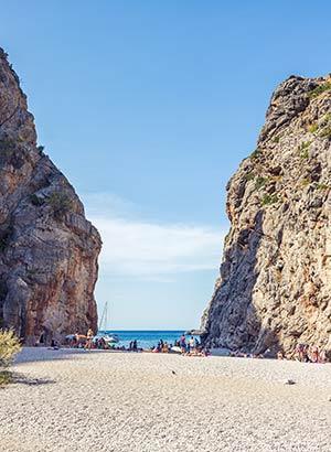 Mooiste stranden Mallorca: Sa Calobra