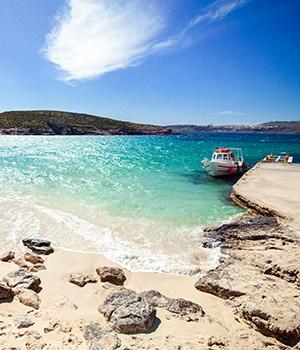 Mooiste stranden Malta: Blue Lagoon