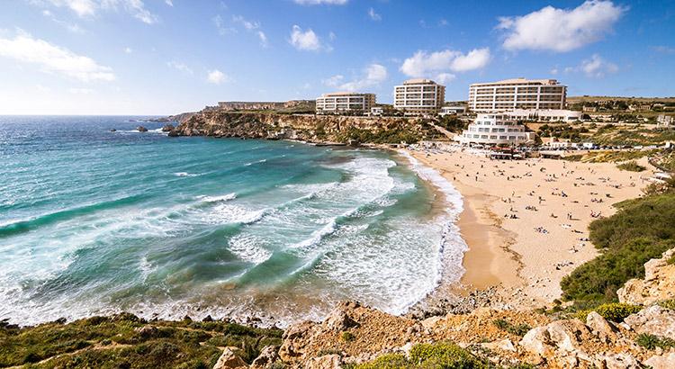 Mooiste stranden op Malta