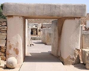 Ontvlucht het EK 2016: Tarxien tempels op Malta