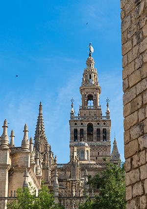 Santa Cruz, Sevilla: de Giralda