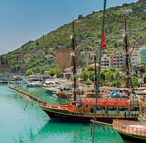 vakantie Turkse Riviera, excursies