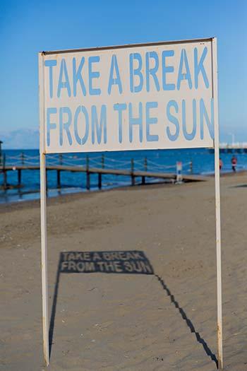 Stranden aan de Turkse Riviera