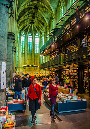 Weekendje Maastricht, boekhandel