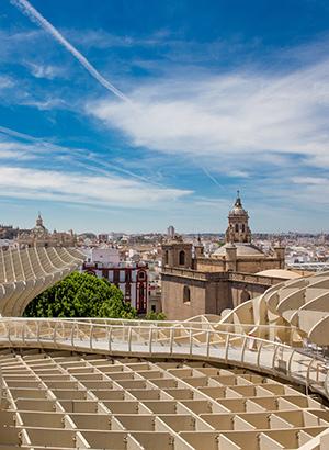 Wijken Sevilla, Centro