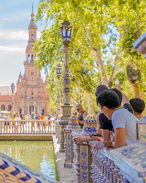 Wijken Sevilla, Plaza de Espana