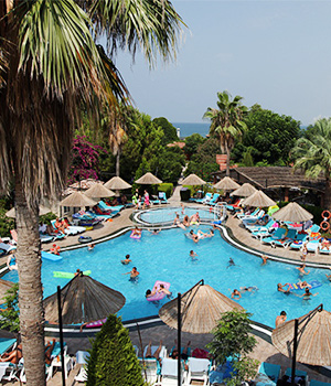 All inclusive hotels Side: Can Garden Beach