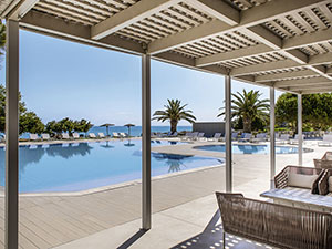 Familiehotels Griekenland: The Bay Hotel & Suites