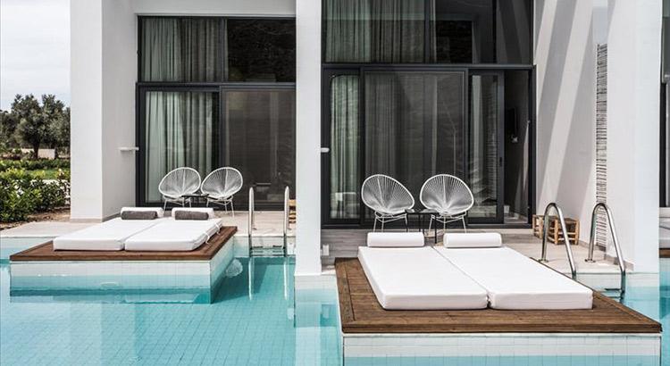Hotels met privé zwembad