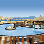 Mooiste stranden Malta: Mellieha, Ramla Bay Resort