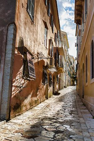 Ionische eilanden: Corfu-Stad
