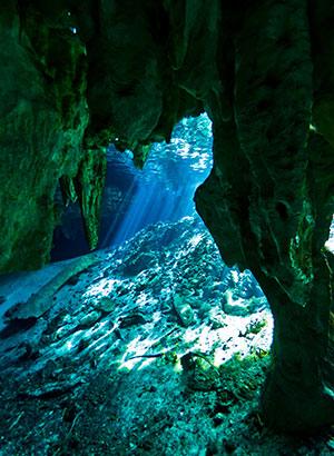 Maya-stad Tulum, Cenote