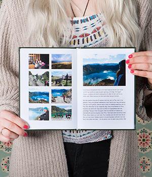 Originele souvenirs; fotoboek