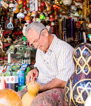 Originele souvenirs, handgemaakte producten