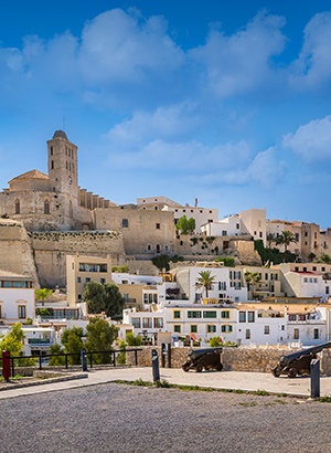 Redenen vakantie Ibiza; Dalt Vila