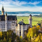Sprookjesachtig Schloss Neuschwanstein; hotspot nr. 1 in Duitsland