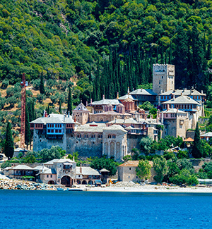 Vakantie Chalkidiki, mount atmos