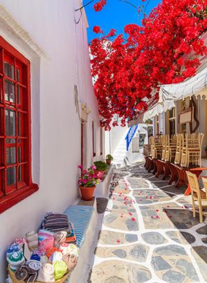 Vakantie Cycladen; Mykonos