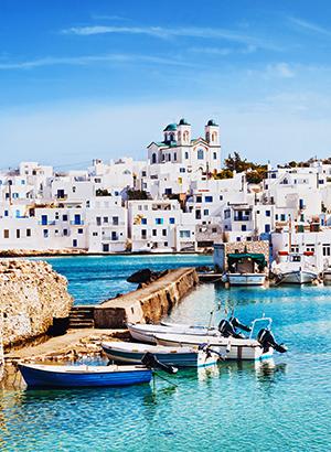 Vakantie Cycladen; Paros