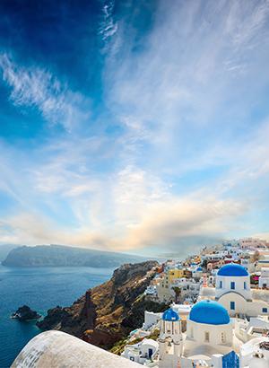 Vakantie Cycladen, Santorini