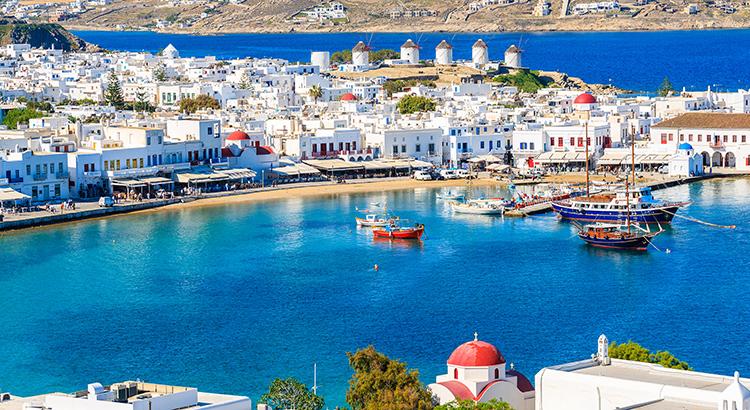 Vakantie Cycladen