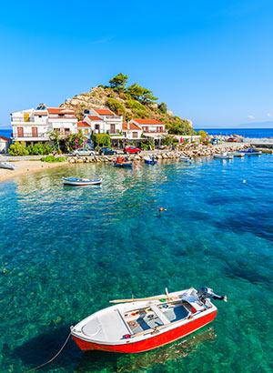 Vakantie Samos, Kokkari