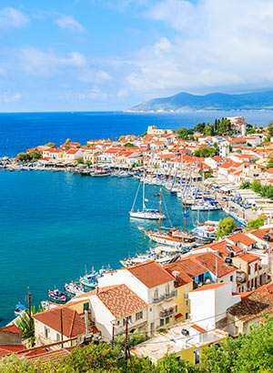 Vakantie Samos, Pythagorion