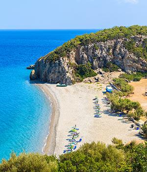 Vakantie Samos, stranden