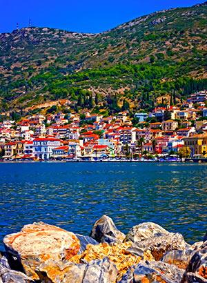 vakantie Samos Vathi