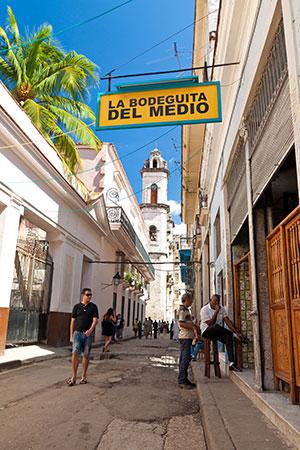 Bezienswaardigheden Havana: La Bodeguita del Medio