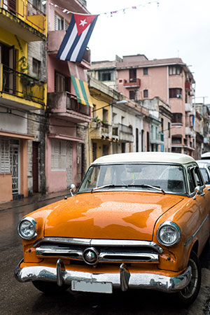 Bezienswaardigheden Havana: oldtimer