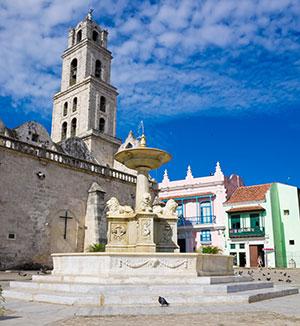 Bezienswaardigheden Havana: plein